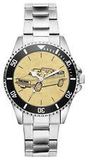 Geschenk für Golf 1 Cabriolet Oldtimer Fan Fahrer Kiesenberg Uhr 6242
