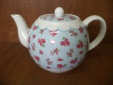 NEW & BOXED Shabby Chic Chintz 1.5 Pint Porcelain Tea Pot