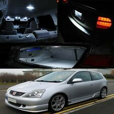 02-05 Civic EP3 Type R Si White Xenon Interior LED Bulb (Map Dome Trunk Plate)