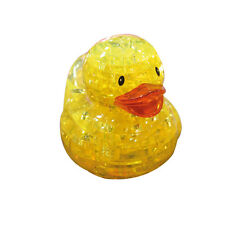 3D Crystal Puzzle - Ente gelb 43 Teile Kristall Puzzle