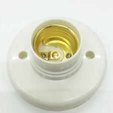 Home Wall Socket Lamp Cover Holder Socket E27 Led Plastic Ceiling Mount Fine
