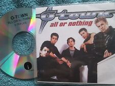 O-Town ‎– All Or Nothing Label: J Records ‎CDr, UK Promo CD Single