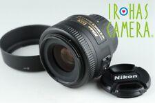 Nikon DX AF-S Nikkor 35mm F/1.8 G Lens #20487 A4