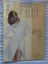 bas vintage GERBE GERLON PJ taille 1 couleur ange 15D pour porte jarretelle