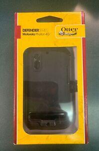 Authentic Otter Box Defender Series for Motorola Photon 4G Phone Case, Black