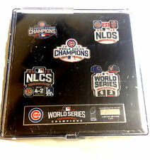 2016 CHICAGO CUBS WORLD SERIES CHAMPS 5 PIECE PIN SET