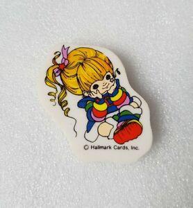 Rare Vintage Rainbow Brite Eraser rubber