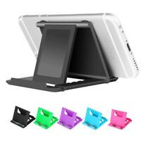 Adjustable Phone Holder Stand Folding Foldable Thin Cradle for Samsung iPhone