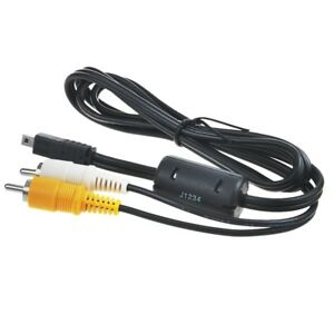 AV A/V Audio Video TV-Out Cable Cord Lead For Panasonic Lumix CAMERA DMW-AVC1