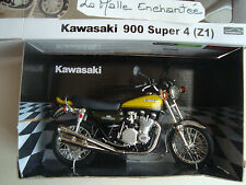 MINIATURE MOTO KAWASAKI 900 super 4 (Z1)  1/12  NEUVE EN BOITE AUTOMAX