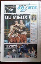La voix des sports 16/12/2002; Coupe de France; Lambres remets ça/ Open du Touqu