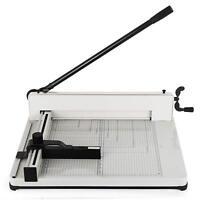 17 Inch A3 Paper Cutter Guillotine Trimmer Cutting Machine Heavy Duty 400 Sheets