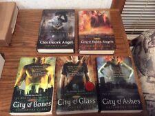 Lot Of Five Cassandra Clark Books City Of Bones Glass Ashes Clockwork Angels