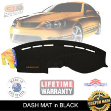 DASH MAT FORD Falcon BA  BF FPV GT GT-P F6 10/2004-ON Gauge MK1 MKII DM966 Black