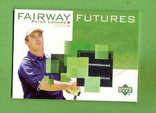 2003  GOLF  FAIRWAY FUTURES  FABRIC  CARD FU-PL PETER LONARD