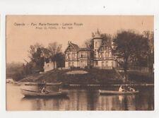 Ostende Parc Marie Henriette Laiterie Royale Belgium 1928 Postcard 289b