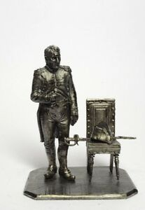 Tin soldier, figure. France. Napoleon in Tewilri 54 mm