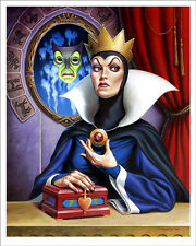 Evil Queen Poster - Mondo - Jason Edmiston - Limited Edition of 190