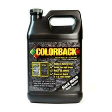 1 gal. black mulch color covering up to 12,800 sq. ft.   colorback concentrate