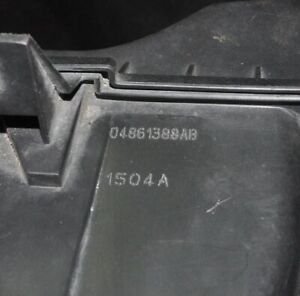 Chrysler Voyager 2.8 Diesel 110kW Air Filter Box 04861388AB MK4 2007