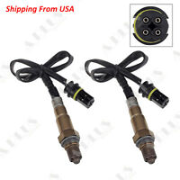 4Pcs Up//Down O2 Oxygen Sensor Direct Fit Mercedes-Benz SL500 SL55 Amg 5.5L 5.0L