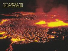 "*Postcard-""Kilauea Volcano in Hawaii"". Eruption 1967-1968/ (B99)"