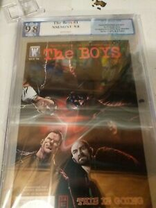THE BOYS 1 PGX 9.8 not cgc or cbcs great show only going up from here