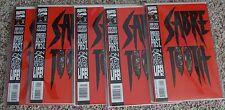 SABRETOOTH #1 DIE CUT COVER (5) 9.4/9.6 COPIES IN MYLAR  TEX