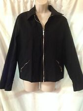Black Equestrian Comfort Fit Jacket SZ M