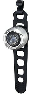 CatEye Orb Front Battery Bicycle Light - Black/Silver - SL-LD160-F