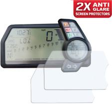 2 X DUCATI MULTISTRADA 10+ instrumento/dashboard/Speedo protector de pantalla AG
