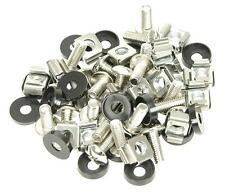 Adastra 952.295 20 Piece PA Audio Rack Fixing Kit M6 Nuts Bolts Plastic Washers