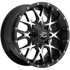 """Dropstars 645MB 17x9 6x135/6x5.5"""" -12mm Black/Machined Wheel Rim 17"""" Inch"""