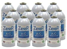 ZeroR Car AC Refrigerant r134a can, Alternative r134a 12 cans, (6oz = 16 oz can)