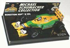 WOW EXTREMELY RARE Benetton B192 Ford Schumacher Belgium 1992 1:43 Minichamps