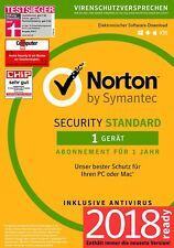 Norton Internet Security 1 PC - 2018 / 2019 -  Latest Version V 22.5 NEU