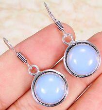 Opalite2 & 925 Silver Handmade Stunning Earrings 35mm & gift-box