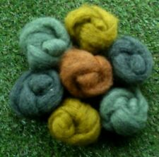 Needle Felting Moss Mix Ideal for 3D Projects. Felting Wool 45g