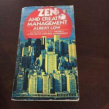 ALBERT LOW, ZEN AND CREATIVE MANAGEMENT. 0867210834
