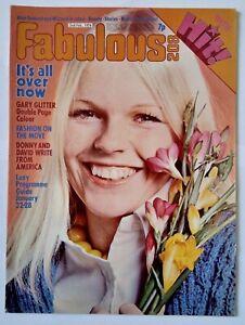 Fabulous / FAB 208 magazine (2 Feb 1974) - Gary Glitter
