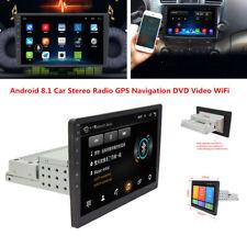 "9""Single Din Android 8.1 Car Stereo Radio GPS Navigation DVD Video TV WiFi/3G/4G"