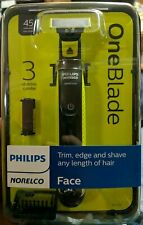 Philips Norelco Oneblade Hybrid Electric Trimmer and Shaver (QP2520/70) New!