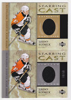 02-03 UD Classic Portraits Jeremy Roenick Jersey Starring Cast Flyers 2002