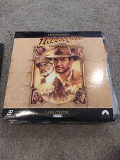 New listing Indiana Jones and the Last Crusade Laserdisc