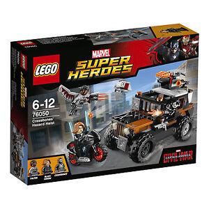 LEGO® Marvel Super Heroes 76050 Crossbones gefährlicher Raub NEU OVP NEW MISB