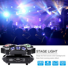 90W 9 LEDs RGB Beam Spider Bird Moving Head Stage Lighting DMX512 Wedding Party