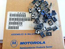 5x MJE350 + 5x MJE340 Plastic Power Silicon Transistor BY MOTOROLA 5 PAIRS