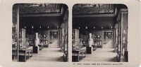 Parigi Museo Del Louvre Sala Dei Ceramica Foto Stereo Vintage Analogica