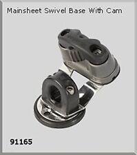 NAUTOS 91165 - SWIVEL BASE WITH PLASTIC EYE & BIG CAM - SAILBOAT HARDWARE