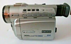 Panasonic Palmcorder MiniDV PV-DV401D 300x Video Transfer Digital Camcorder
